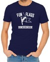 Fun With Flags Men's Navy T-Shirt (X-Small)