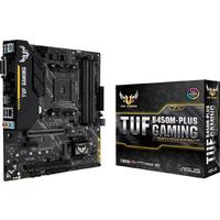 ASUS TUF B450M-PLUS GAMING Socket AM4 AMD B450 micro ATX Motherboard