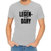 Legendary Men's Grey T-Shirt (Large)