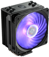 Cooler Master - Hyper 212 RGB Black Edition CPU Air Cooler 4 Direct Contact Heat Pipes 120mm RGB Fan