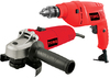 Torq - Angle Grinder & Impact Drill Combo 500W