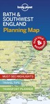 Lonely Planet Bath & Southwest England Planning Map - Lonely Planet Publications (Paperback)