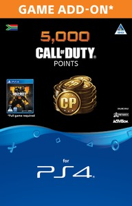 4,000 + 1,000 Bonus Call of Duty Points (CP) (PS4) - Cover