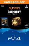 4,000 + 1,000 Bonus Call of Duty Points (CP) (PS4)