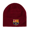 FC Barcelona - Beanie Knitted Hat - Burgundy
