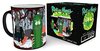 Rick & Morty - Pickle Rick Heat Changing Mug Cover