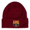 FC Barcelona - Cuff Knitted Hat - Burgundy