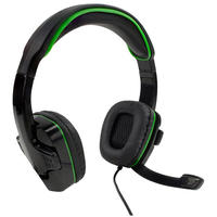 Sparkfox - SF1 Stereo Headset - Green (Xbox One/PS4/Mobile with 3.5mm jack)