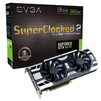 EVGA nVidia GeForce GTX 1070 8 GB GDDR5 Graphics Card - Cover