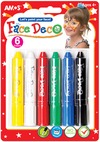Amos - Face Paint 6 Colours
