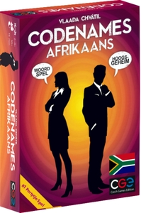 Codenames - Afrikaans (Card Game) - Cover