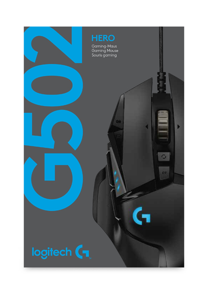 2863969aaed Logitech - G502 Hero RGB Optical Gaming Mouse - Electronics Online ...
