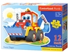Castorland - Funny Digger Puzzle (12 Pieces)