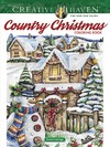 Creative Haven Country Christmas Coloring Book - Teresa Goodridge (Paperback)