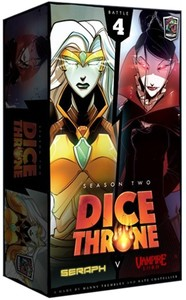 Dice Throne: Season Two - Seraph vs. Vampire Lord (Card Game) - Cover