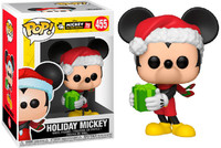 Funko Pop! Disney - Mickey's 90th - Holiday Mickey Vinyl Figure - Cover