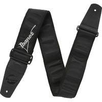 Ibanez GST611LG Standard Instrument Strap (Black and Silver)