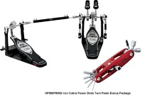 Tama Iron Cobra 900 Series Power Glide Double Bass Drum Pedal (25th Anniversary Bonus Package)