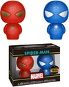 Funko Hikari Xs - Marvel - Spider-Man (Red & Blue) (Pack of 2)