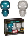 Funko Hikari Xs - Marvel - Iron Man (Blue & Silver) (Pack of 2)