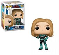 Funko Pop! Marvel - Captain Marvel - Vers Vinyl Figure - Cover