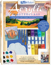 Art Maker: Acrylic Paints - Hinkler Books (Book)