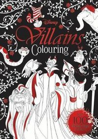 Disney Classics Mixed Villains Colouring