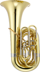 Jupiter JTU1110 1100 Series 4 Vale BBb Tuba with Case (Lacquered Brass)