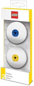LEGO IQHK - Erasers Blue & Yellow (Pack of 2)