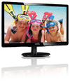 Philips - 19.5 inch Computer Monitor with LED backlight