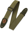 Levys MSSC8-GRN Signature Series 2 Inc Cotton Guitar Strap (Green)