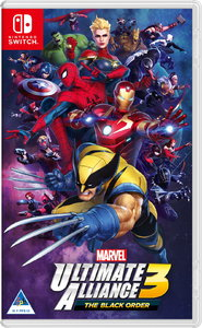 Marvel Ultimate Alliance 3: The Black Order (Nintendo Switch) - Cover