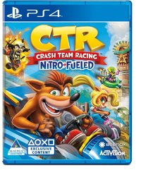 Crash Team Racing Nitro Fueled (PS4) - Cover