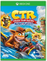 Crash Team Racing Nitro Fueled (Xbox One) - Cover