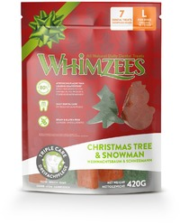 Whimzees - Holiday Variety Dental Dog Treats (7 Pieces)