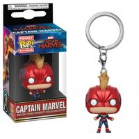 Funko Pop! Keychains - Marvel - Captain Marvel - Captain Marvel With Helmet - Cover