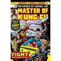 Master of Kung Fu Epic Collection - Fight Without Pity - Marvel Comics (Paperback)