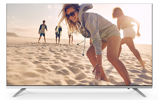 Skyworth E 6 Series 40 Inch Android Smart LED FHD TV - Silver