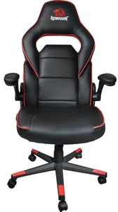 Redragon Assassin Gaming Chair - Black and Red - Cover