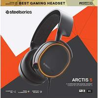 SteelSeries Gaming Headset - Arctis 5 - 2019 Edition - Black (PC/Gaming)
