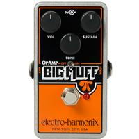 Electro-Harmonix Op-Amp Big Muff Pi Distortion Sustainer Effects Pedal