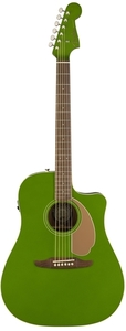 Fender Redondo Player Dreadnought Acoustic Electric Guitar (Electric Jade)