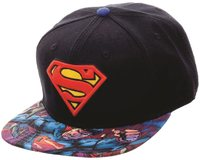 Superman - Sublimated Snap Back Cap