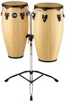 Meinl HC812NT Headliner Series Wood Conga Set - Inc Stands (11 Inch Quinto and 12 Inch Conga)