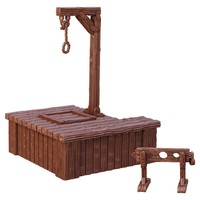 Mantic Games - Terrain Crate: Gallows & Stocks (Miniatures) - Cover
