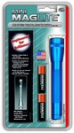 Maglite - Mini Maglite 2-Cell AA 12 Lumens Flashlight (Blue)