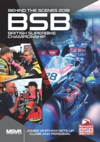 British Superbike: 2018 - Behind the Scenes (DVD) - Cover