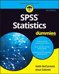 SPSS Statistics For Dummies - Keith McCormick (Paperback) - Cover