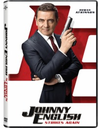 Johnny English: Strikes Again (DVD) - Cover