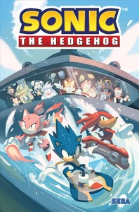 Sonic the Hedgehog 3 - Battle for Angel Island - Ian Flynn (Paperback) - Cover